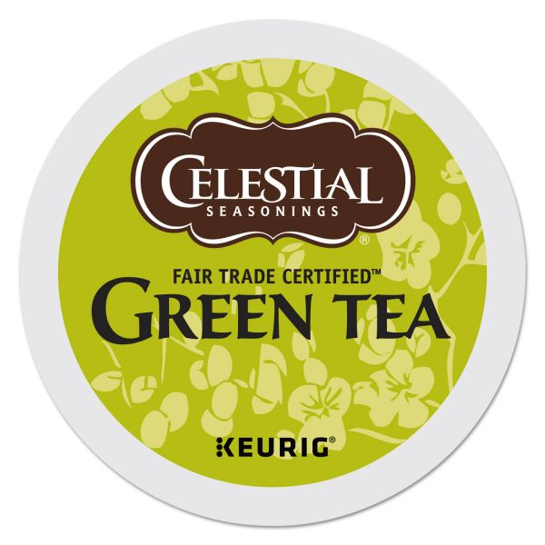 Celestial Seasonings Green Tea K-Cups, 24/Box