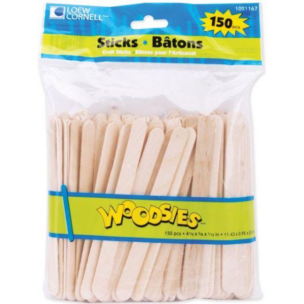 Woodsies Craft Sticks