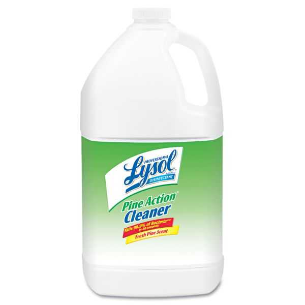 Professional LYSOL Brand Disinfectant Pine Action Cleaner Concentrate, 1 gal Bottle