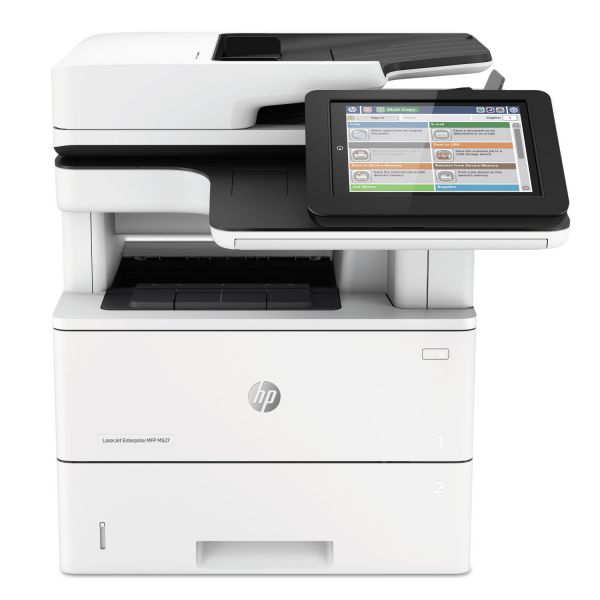 HP LaserJet Enterprise MFP M527dn Multifunction Laser Printer, Copy/Print/Scan