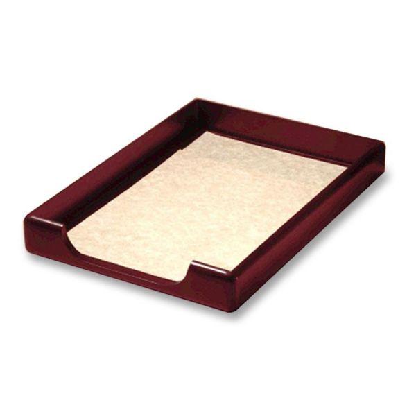 Rolodex Wood Tones Front Load Legal Trays