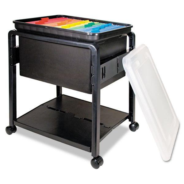 Advantus Folding Mobile File Cart