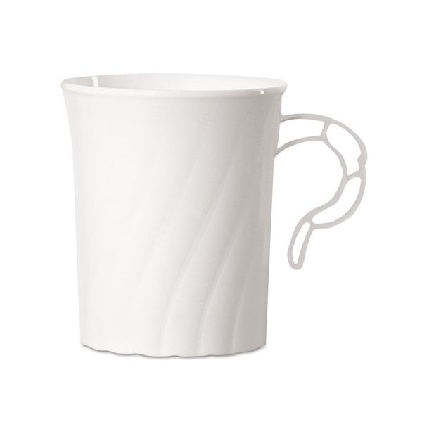 WNA Classicware 8 oz Plastic Coffee Mugs