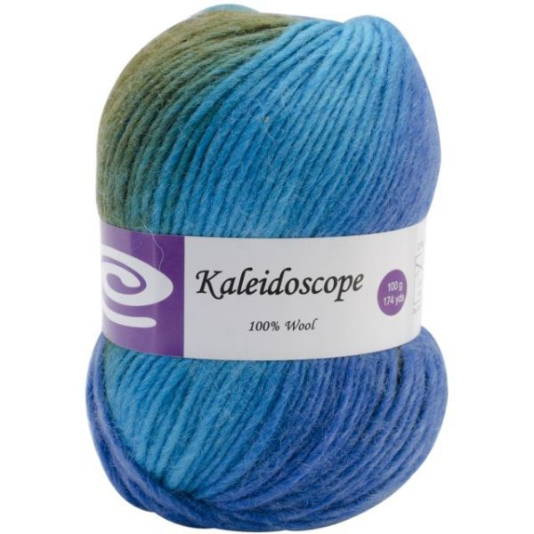Elegant Kaleidoscope Yarn - Sapphire