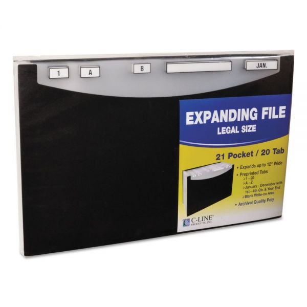 C-Line 21-Pocket Stand-Up Expanding File