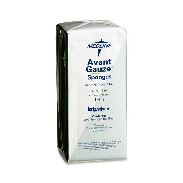 Medline Non-Sterile Avant Gauze Sponges