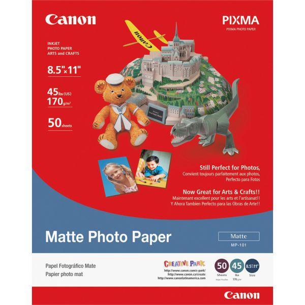 Canon Matte Photo Paper