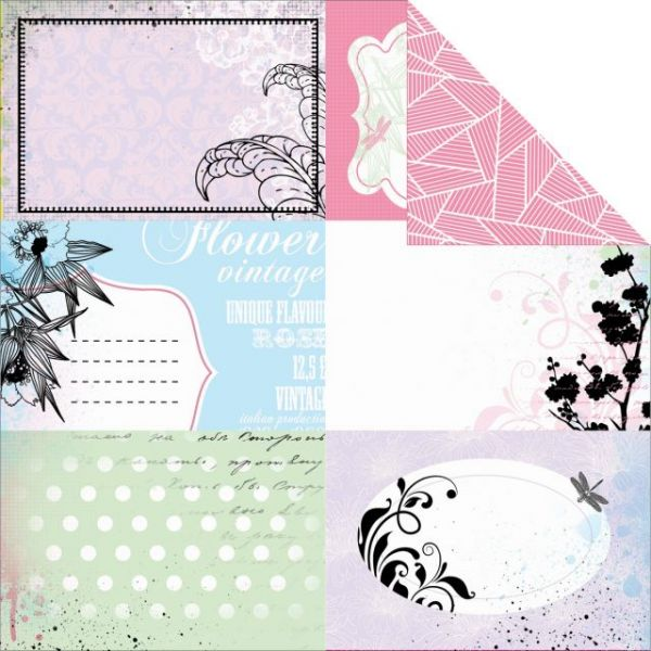 Lavender Haze Double-Sided Paper