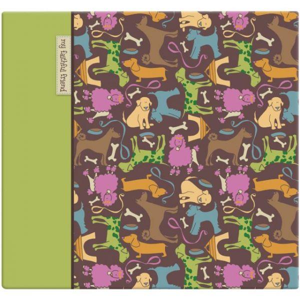 "Cute Doggie Post Bound Album 12""X12"""