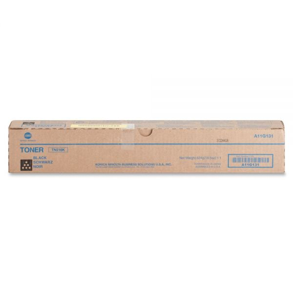 Konica Minolta TN-216K Black Toner Cartridge