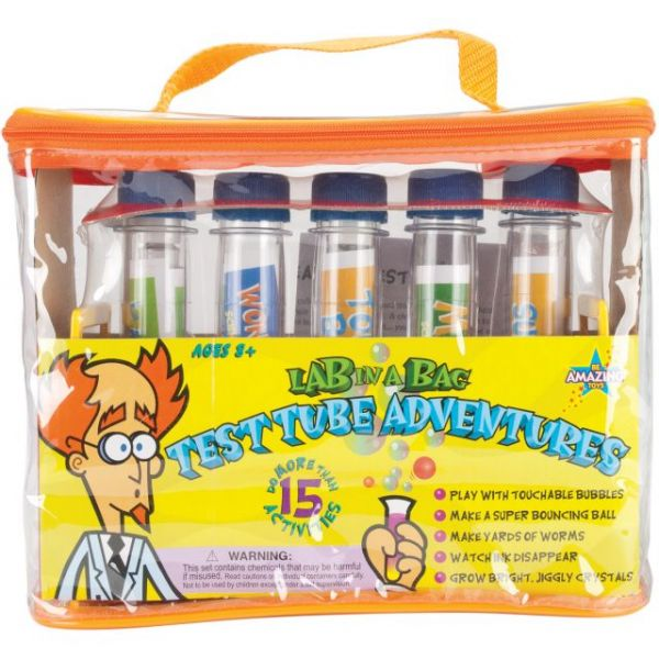 Lab In A Bag Test Tube Adventures Kit