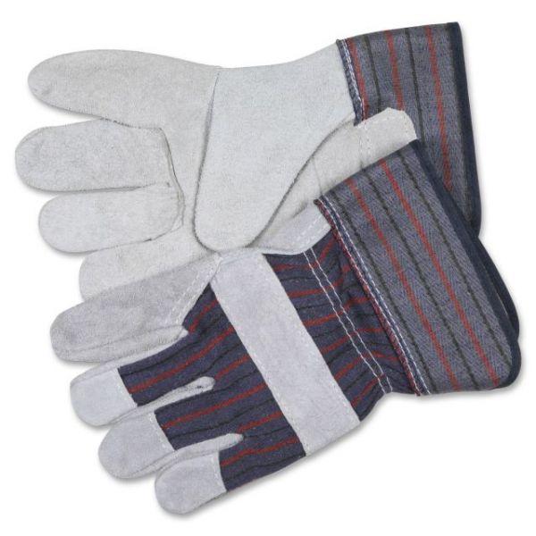 MCR Safety Leather Palm Economy Safety Gloves