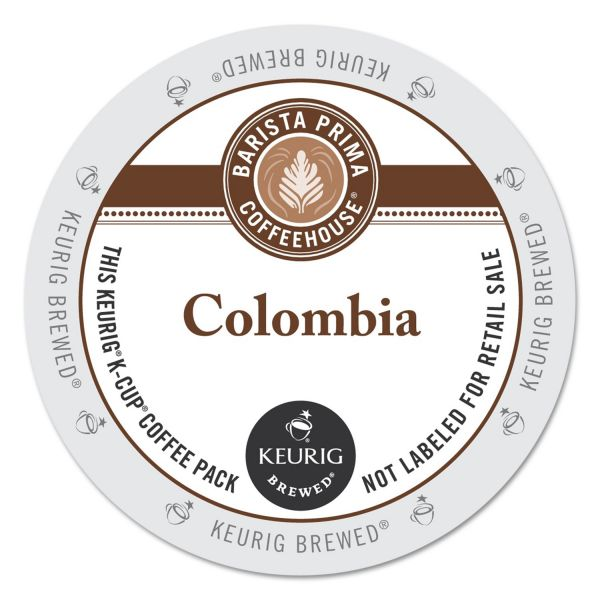 Barista Prima Coffeehouse Colombia Flavored Coffee K-Cups