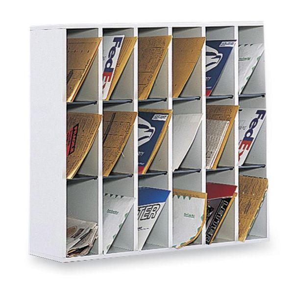 Safco Sturdy Mail Organizer