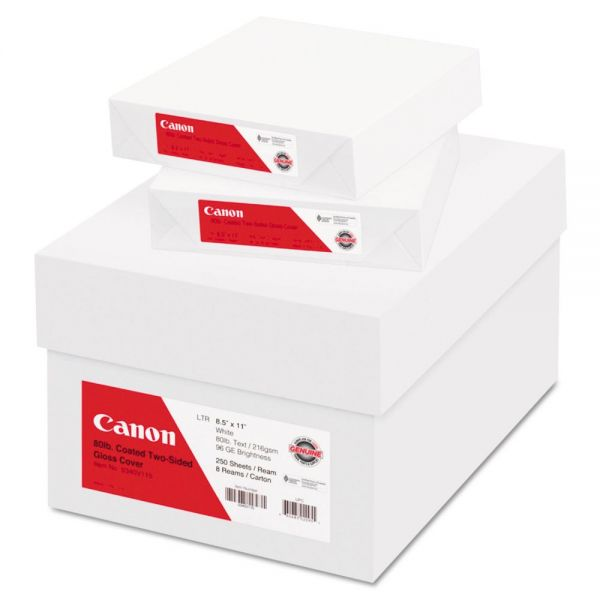 Canon Coated Two-Sided Gloss Cover Paper