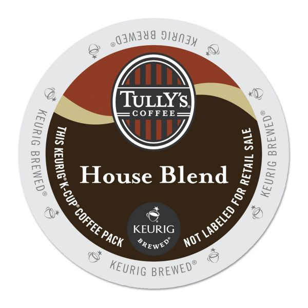 Tully's Coffee House Blend Coffee K-Cups