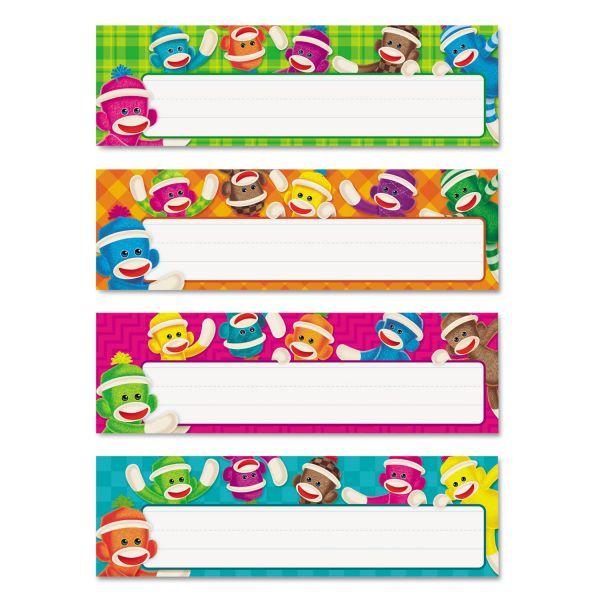 Trend Sock Monkeys Desk Name Plates