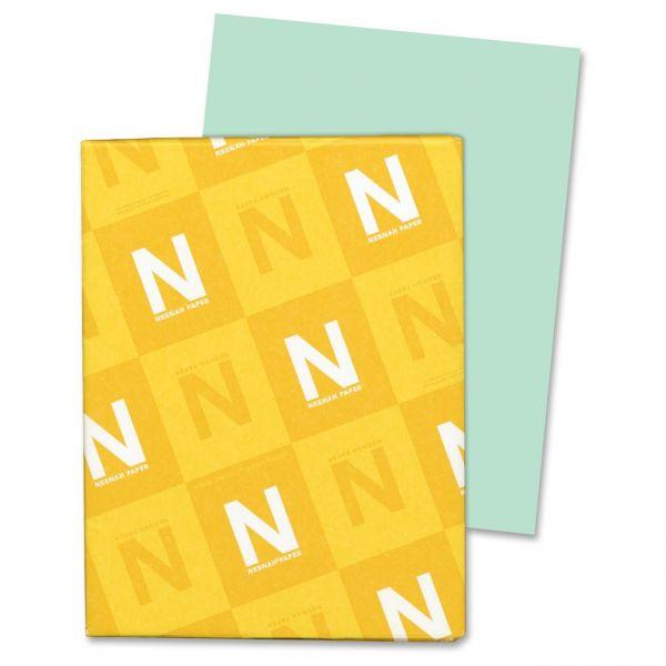 Neenah Paper Vellum Bristol Green Cover Stock