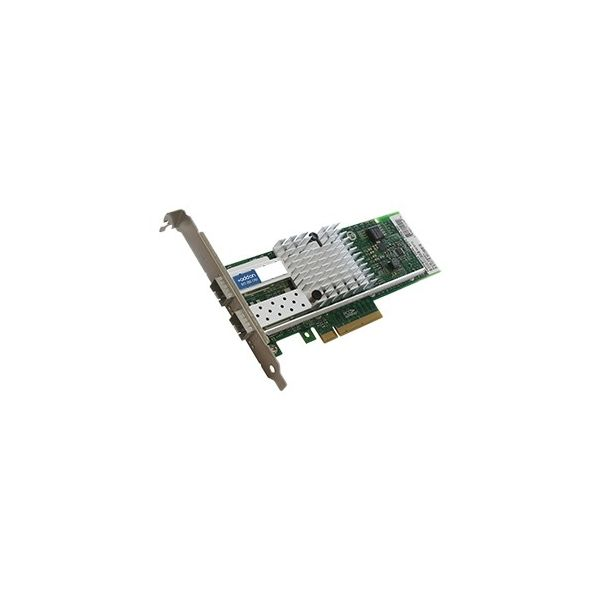 AddOn 10Gbs Dual Open SFP+ Port Network Interface Card with PXE boot