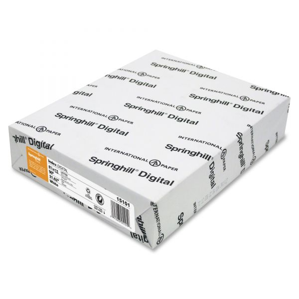 Springhill Digital Index White Card Stock