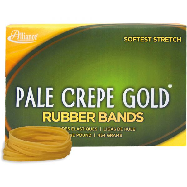 Pale Crepe Gold #32 Rubber Bands