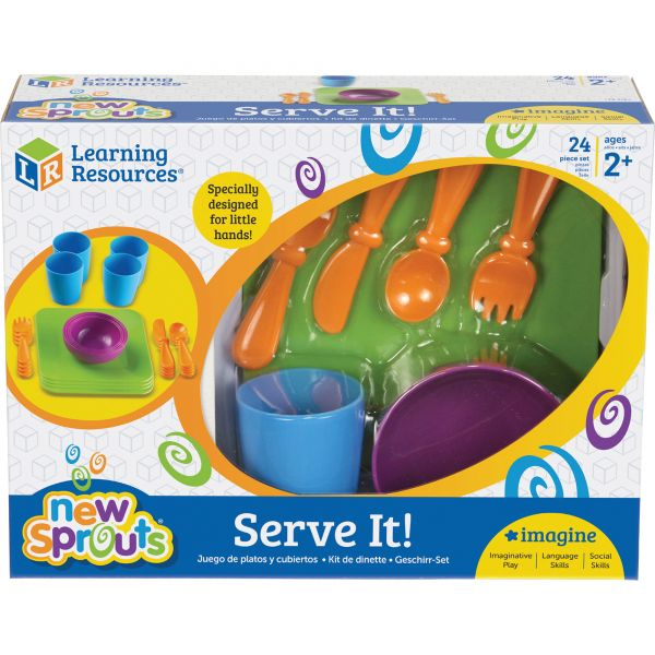 New Sprouts - Serve it! Play Dish Set