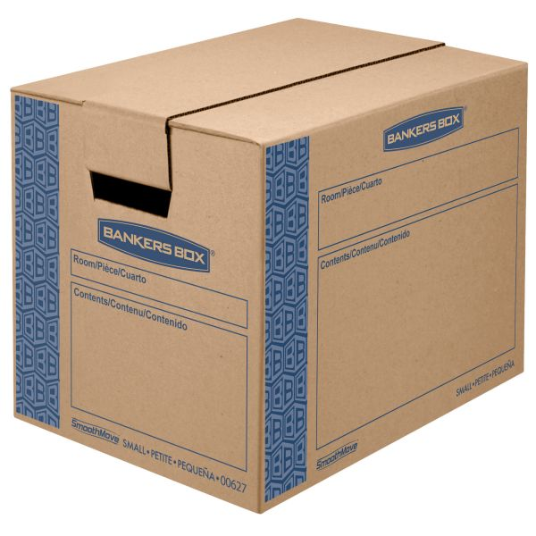 Bankers Box SmoothMove Heavy-Duty Moving & Storage Boxes