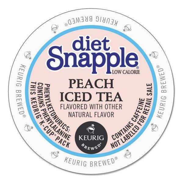 Snapple Diet Peach Iced Tea K-Cups