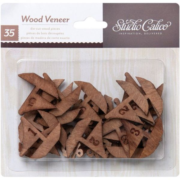 Atlantic Laser-Cut Wood Veneer Shapes