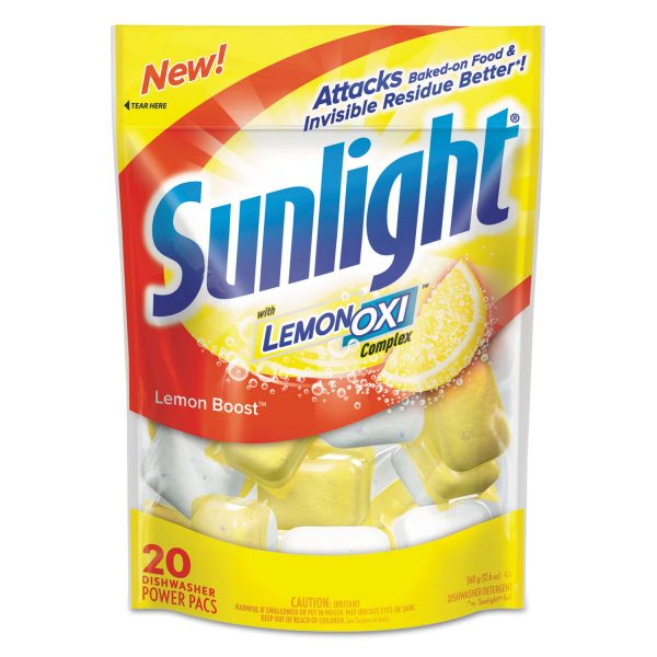 Sunlight Dishwasher Soap Pouches