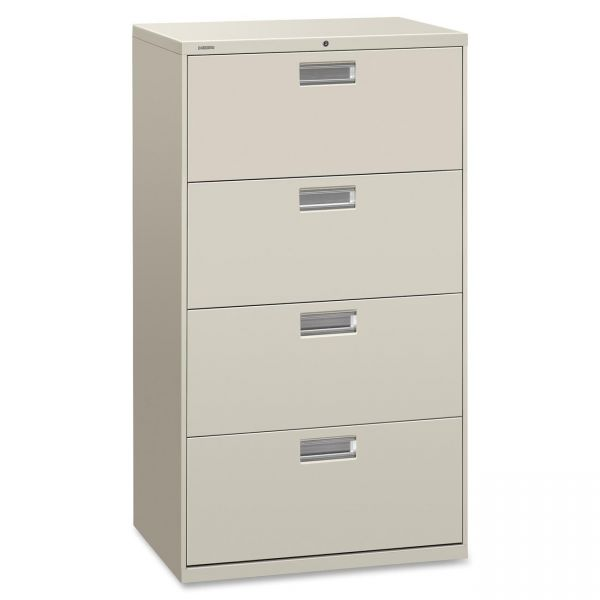 HON 600 Series 4 Drawer Lateral File Cabinet