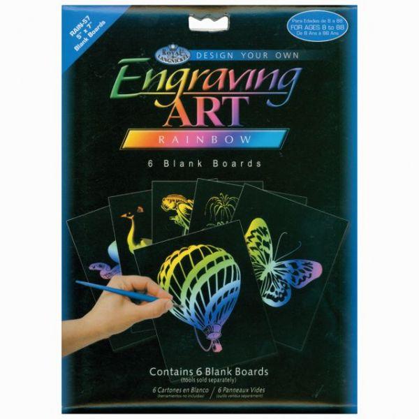 Foil Engraving Art Blank Boards