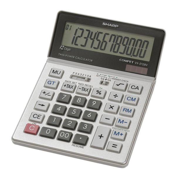 Sharp Calculators Sharp VX2128V Desktop Calculator
