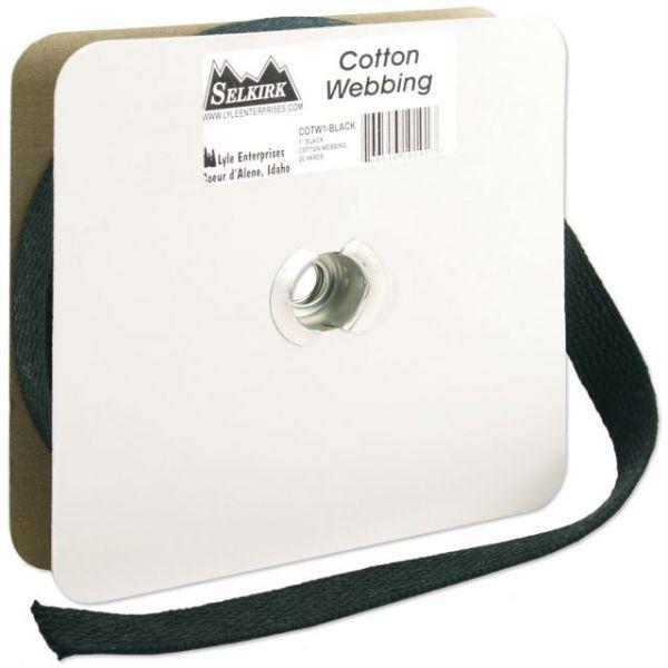 """Cotton Webbing 1""""X20yd"""
