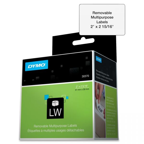 Dymo Removable Multipurpose LabelWriter Labels