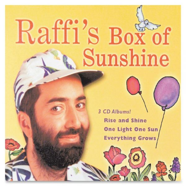 Flipside Raffi's Box Of Sunshine 3-CD Set