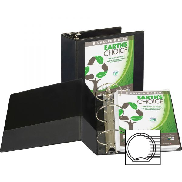 "Samsill Earth's Choice 5"" 3-Ring View Binder"