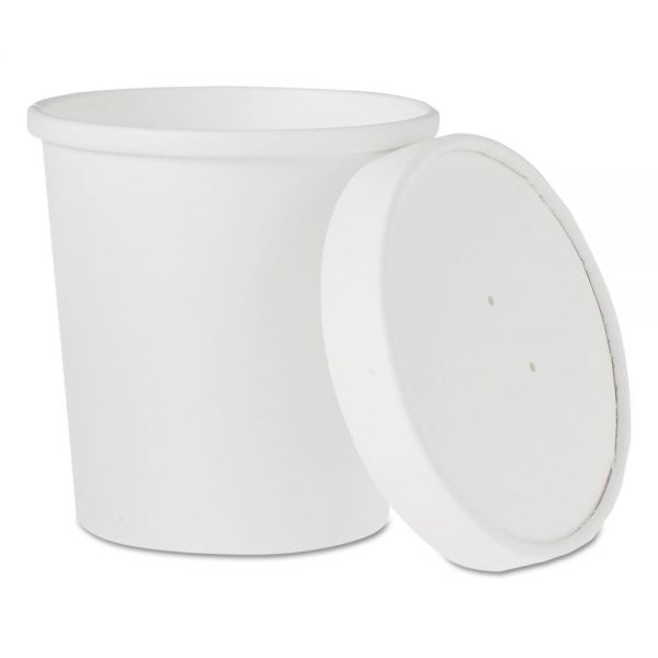 SOLO Cup Company Flexstyle Double Poly Takeout Containers w/ Lids