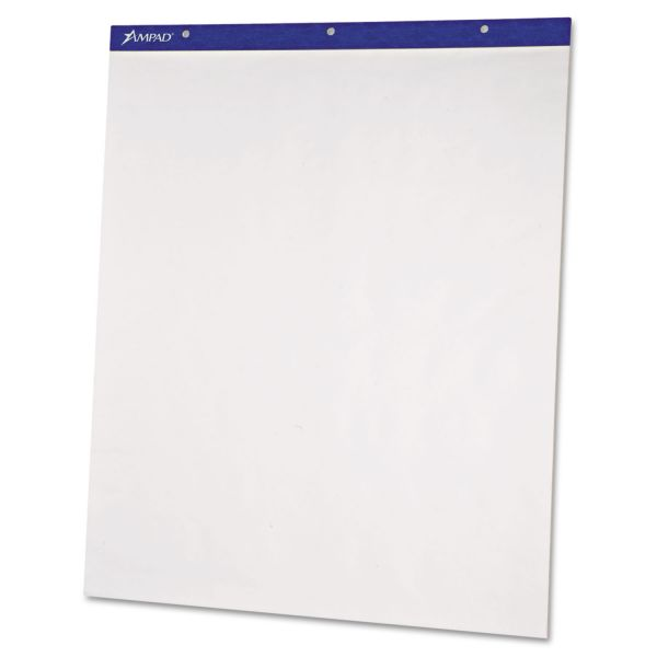 Ampad Plain Recycled Perforated Easel Pads