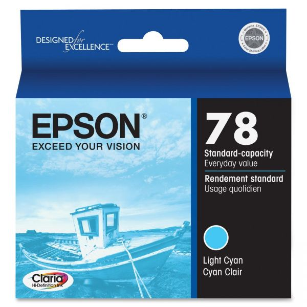 Epson 78 Light Cyan Ink Cartridge