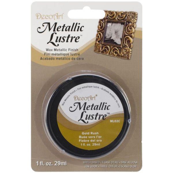 Deco Art Gold Rush Metallic Lustre Wax Finish