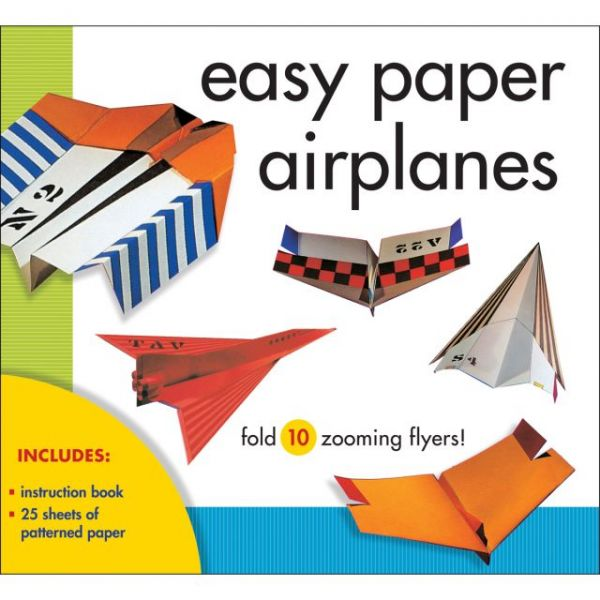 Easy Paper Airplanes Kit