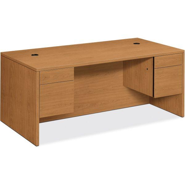 HON 10500 Series Double Pedestal Computer Desk