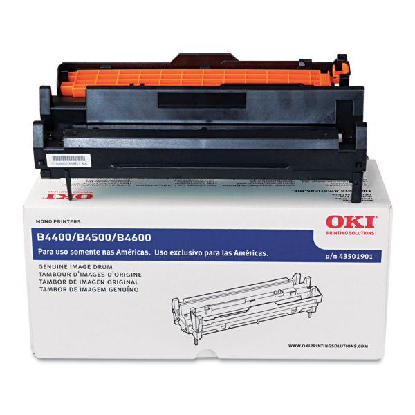 Oki Image Drum For B4400 and B4600 Series Printers