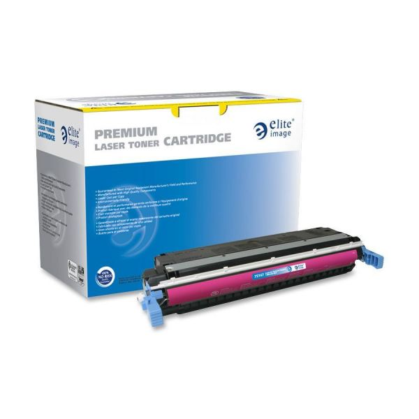 Elite Image Remanufactured HP 645A (C9733A) Toner Cartridge