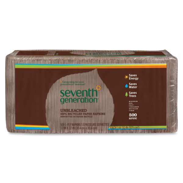 Seventh Generation 100% Recycled Paper Napkins