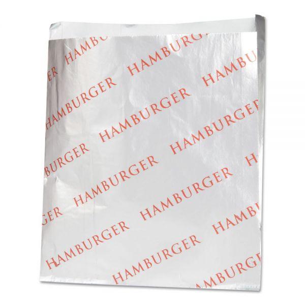 Bagcraft Papercon Foil Hamburger Bags