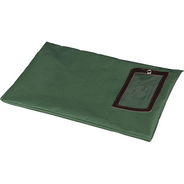 PM Company SecurIT Flat Dark Green Transit Sack, 18w x 14h