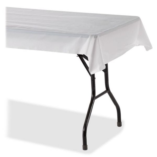 Genuine Joe Banquet-size Plastic Tablecover