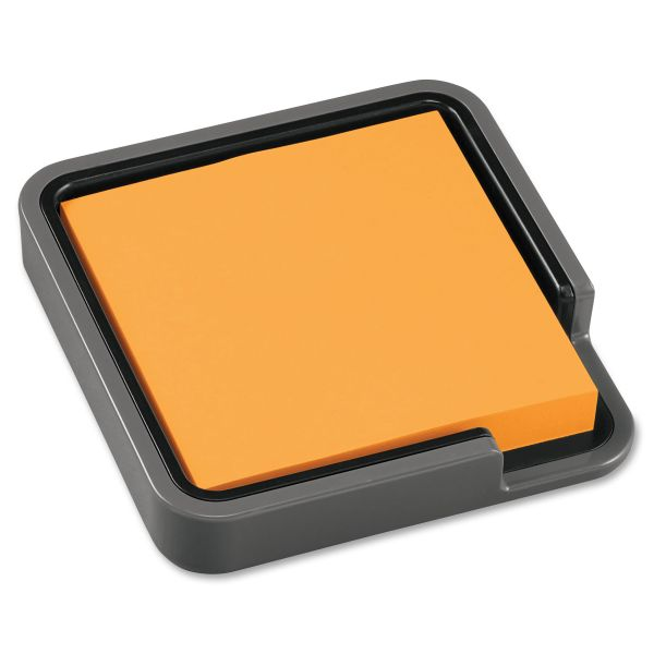 """Post-it Note Holder, 3"""" x 3"""", Gray"""
